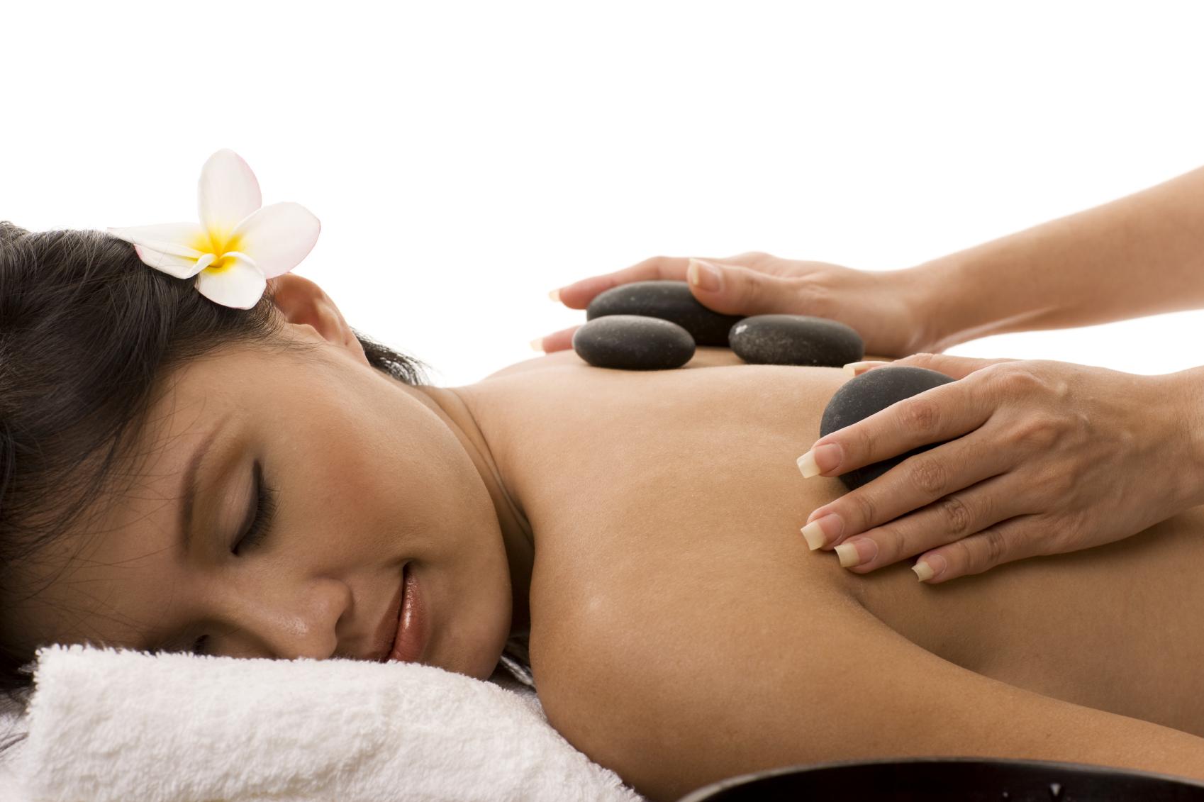 Laavakivi massaaž