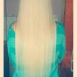 Blond kaunitar ja 40 teippi pikkusega 55cm